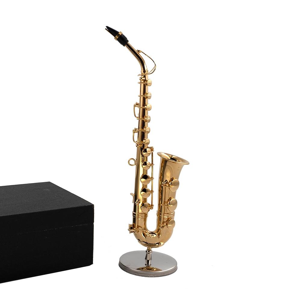 Miniatur Alt Saxophon Mini Musikinstrument Dekoration