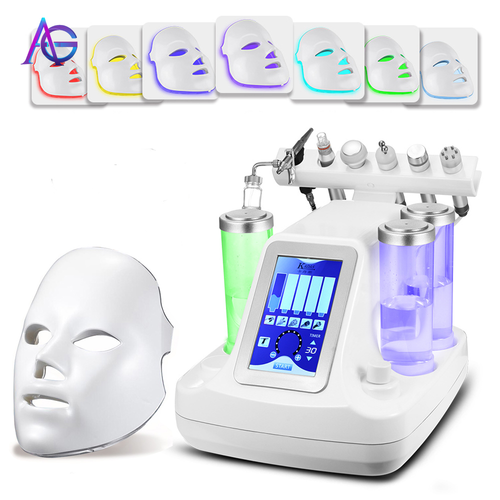 7 In One Oxygen Facial Deep Cleaning Skin Care Machine With Feedback
