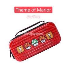EVA 하드 하드 쉘 케이스 여행 핸드백 운반 파우치 케이스 방수 스토리지 가방 Ninetendo 스위치 콘솔 액세서리