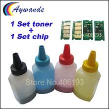 Тонер и чип сброса для Ricoh Aficio SPC250 SPC 250e SPC 250DN SPC 250sf SP C250e SP C250DN SP C250sf заправка тонеры порошок чипы