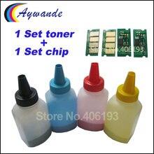 Chip de Toner e Redefinir Chip para Ricoh Aficio SP SPC220 C220 C222 C240 SPC222 SPC240 SP C240dn C240sf toners recarga em pó fichas