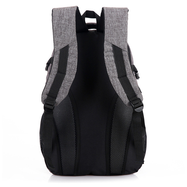 Canvas School Backpack for male