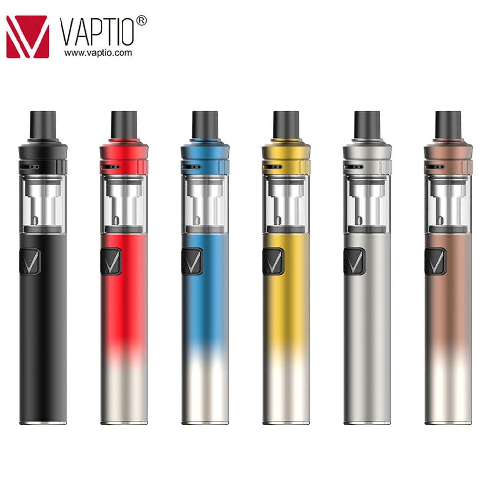 Vaptio Palo Starter Kit AIO Built-in 1500mah Battery With Vape Pen 0.6 /1.3ohm Dual Core With LED Indicator Electronic Cigarette