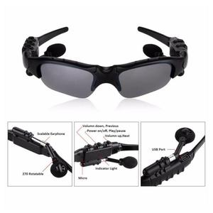 Мужские уличные очки, солнцезащитные очки с Bluetooth, беспроводные наушники, спортивные наушники для прослушивания песен, беспроводная гарнит...