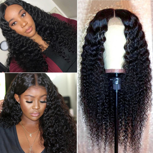 Deep Curly Lace Front Wig 4