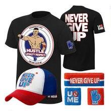 Nova venda quente t-shirts seth aj estilos t-shirts cinco peças um conjunto de moda tendência wrestling treinamento camiseta 2020 novo algodão topos