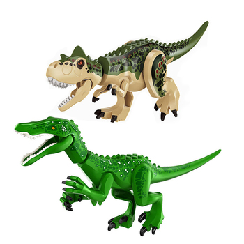 ts8000 jurassic dinosaurs base tyrannosaurus escape building blocks toys kids diy bricks gift for children compatible with lepin Compatible With Block Jurassic Dinosaur Tyrannosaurus Rex building blocks bricks toys for children Christmas