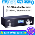 HD915 HDMI 5.1CH Decoder Audio Bluetooth 5.0 Ricevitore DAC DTS AC3 FLAC APE 4K * 2K HDMI a HDMI Estrattore Convertitore SPDIF AD ARCO