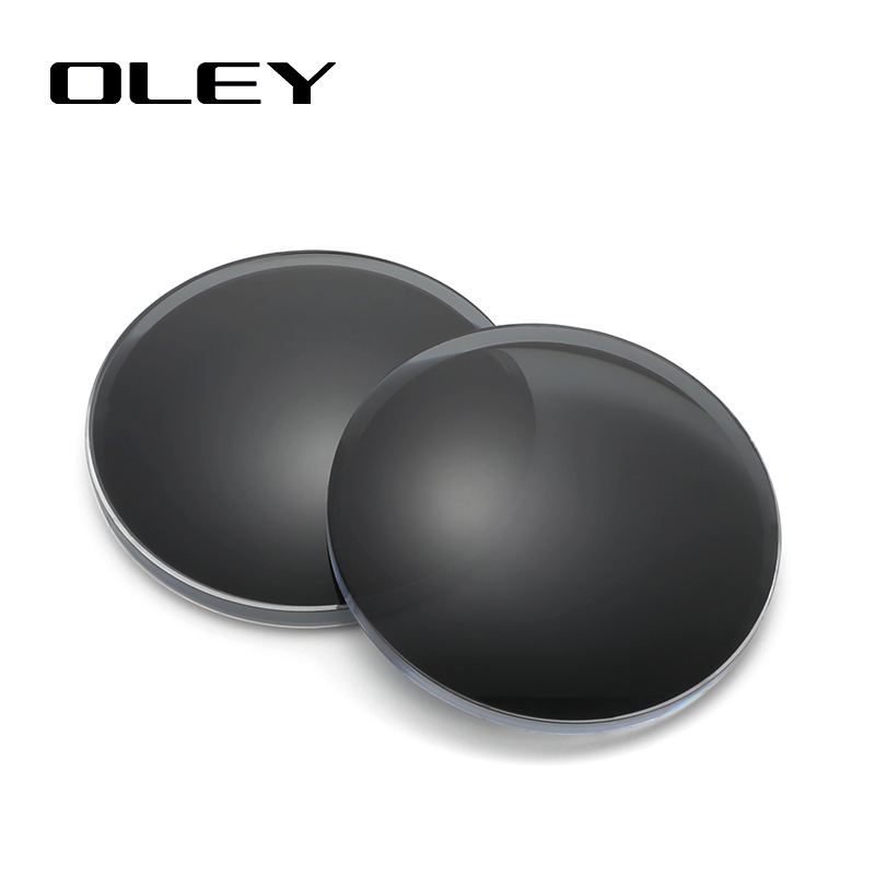 OLEY Anti-blue Light 1.56 1.61 1.67 Prescription CR-39 Resin Sun Glasses Lenses Myopia Polarized Lens Y0101