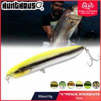 Appât de pêche Hunthouse leurre de pêche longue coulée crayon appât coulant 90mm 19g bass appât de pêche basse sandre perche leurre pesca