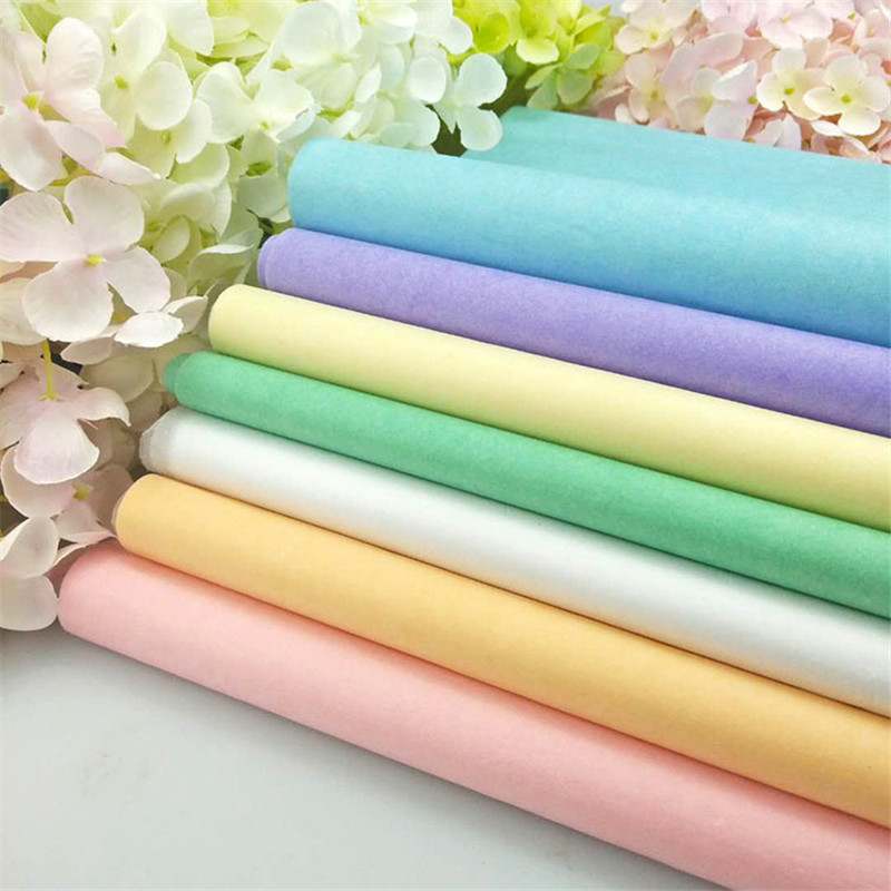 10 Pieces 50*66 Cm Tissue Paper DIY Handmade Craft Paper Flowers Gift Packing Wedding Festive Party Home Decoration Supplies