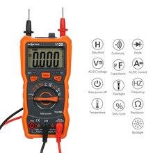 RICHMETERS Multimetro RM113D Multimetro Tester Multimetro digitale 6000 conta misurazione automatica della temperatura della tensione ca/cc