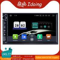 Idoing 7 2 Din coche Universal Android 9,0 Radio reproductor Multimedia PX5 4G + 64G Octa Core navegación GPS IPS DSP TDA 7850 NO hay DVD