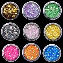 1 шт. 12 видов цветов DIY модные узоры для ногтей с блестками щетка для очистки пыли буферная губка песок УФ Гель-лак набор акриловый маникюр педикюр инструмент