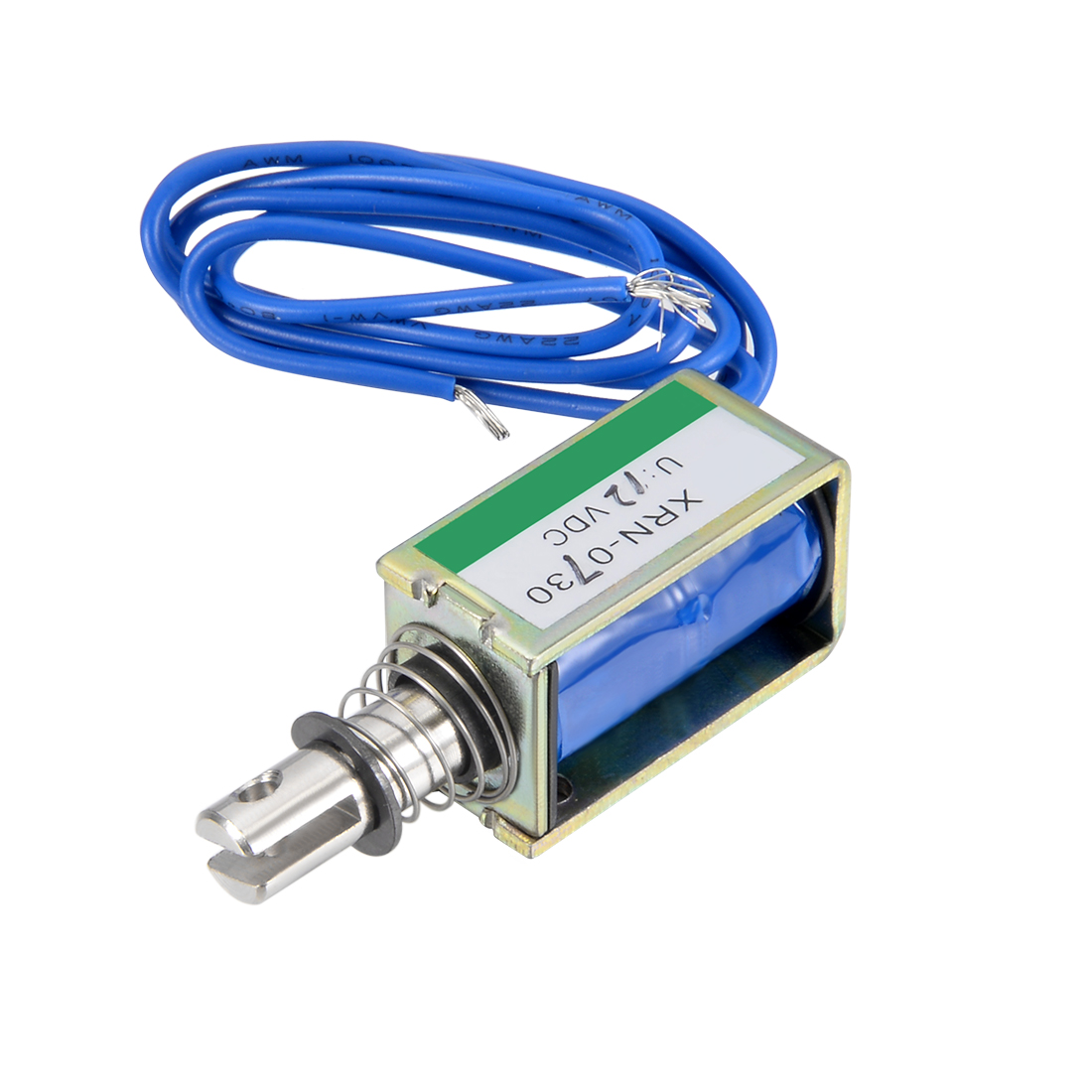 Uxcell XRN-0730 DC 12V 10N 10mm Pull Type Open Frame Solenoid Electromagnet