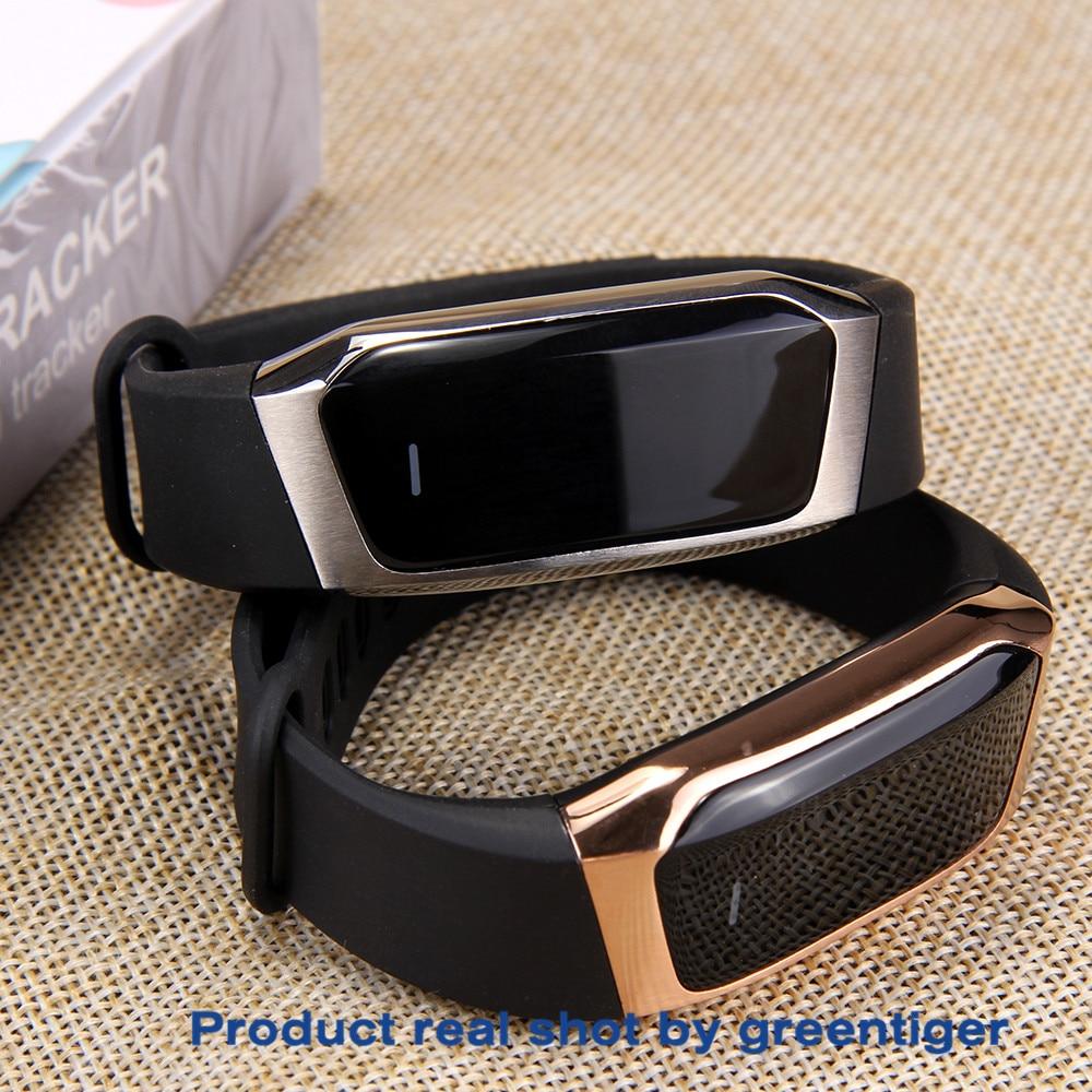 Haee321fdabc3457ead23da09914096691 Greentiger E18 Smart Bracelet Blood Pressure Heart Rate Monitor Fitness Tracker smart watch IP67 Waterproof camera Sports Band