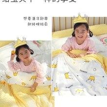Case Duvet-Cover Fabric Minky Quilt Cotton Blanket Beddings Dot Smoothing Comfort Newborn
