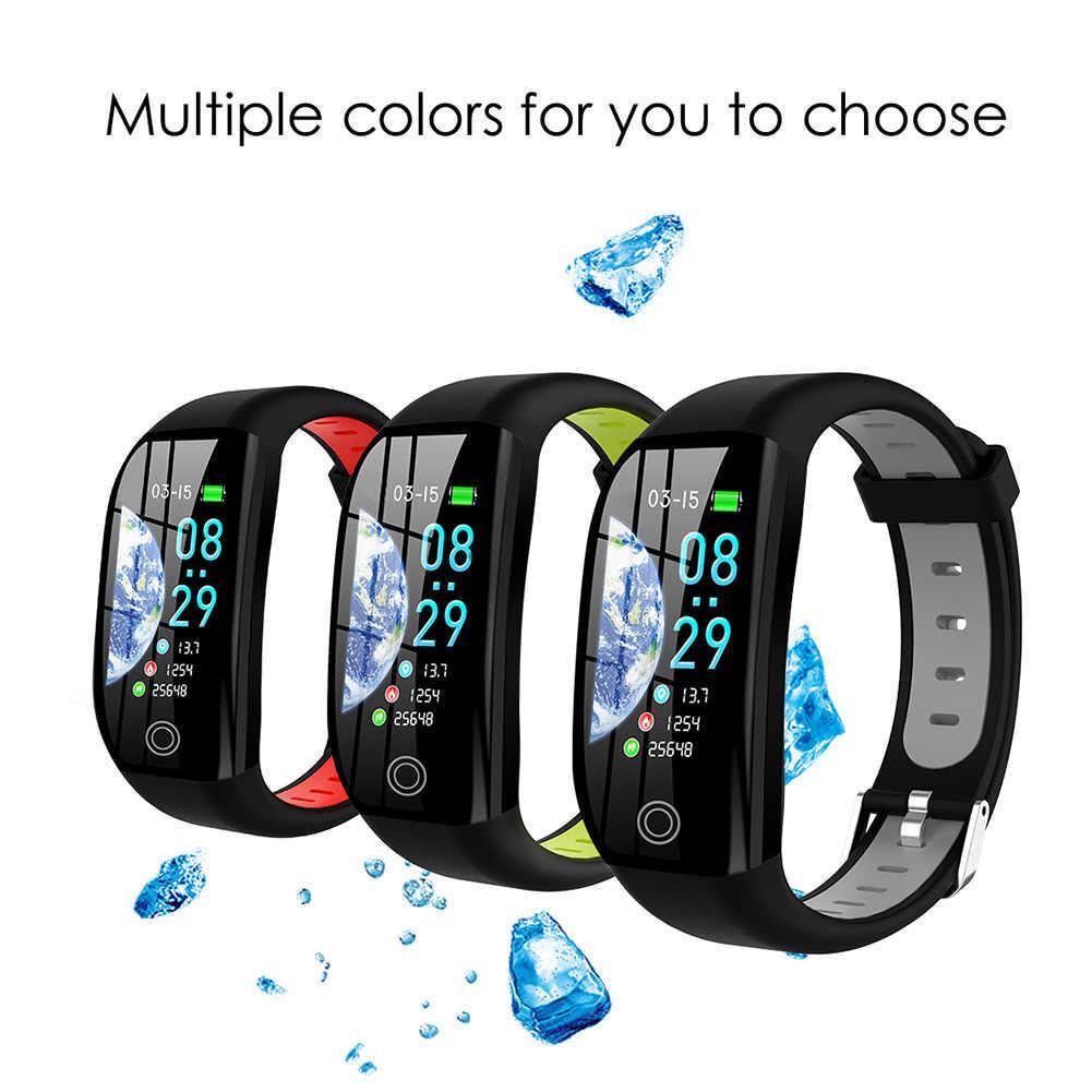 2019 新 tシャツ racker 防水スマートブレスレット男性女性心拍数モニタースポーツモードスマート時計の Android IOS