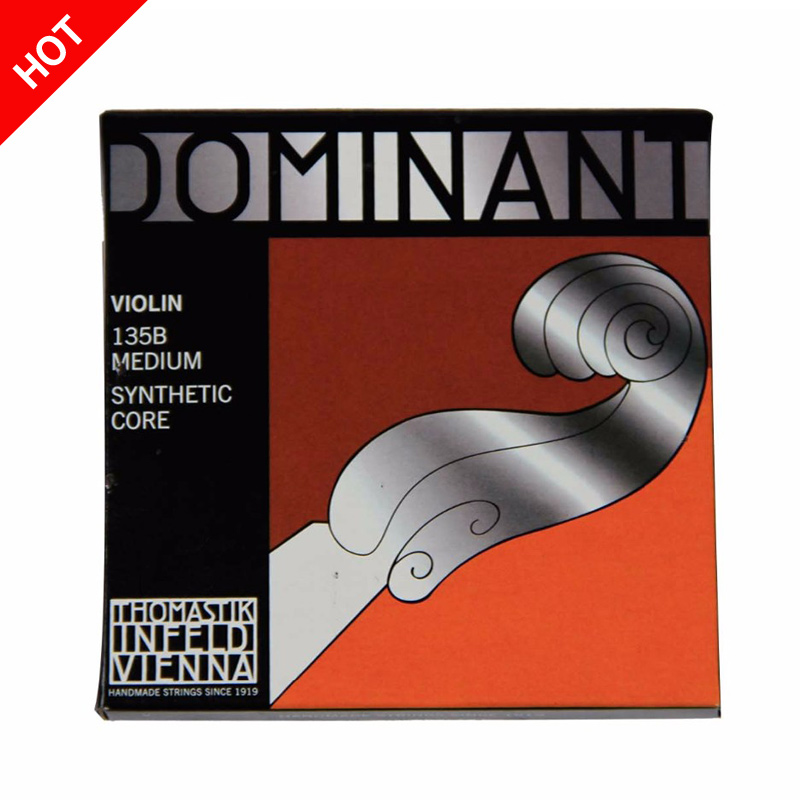 Free Shipping Thomastik Dominant 135B Medium Violin Strings 4/4 Strings Full Set G D A E Strings