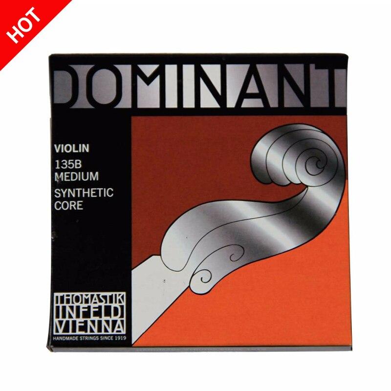 Free Shipping Thomastik Dominant 135B Medium Violin Strings 4/4 Strings Full Set G D A E Strings