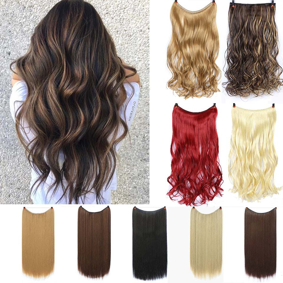 Women's Lupu Hairline Hair Extension 24