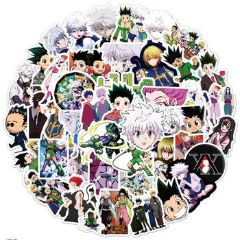 10 30 50 sztuk Hunter X Hunter DIY Graffiti naklejki Anime paczka na laptopa motocykl deskorolka wodoodporne naklejki pcv zabawki tanie i dobre opinie CN (pochodzenie) 1 2in(3CM)-3 9 in(10CM) Waterproof PVC Rohs WEEE NONE 10-35 Hunter X Graffiti Anime sticker Hunter X anime stickers