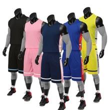Баскетбольный костюм Мужская команда баскетбольный тренировочный баскетбольный костюм Гладкий детский баскетбольный костюм