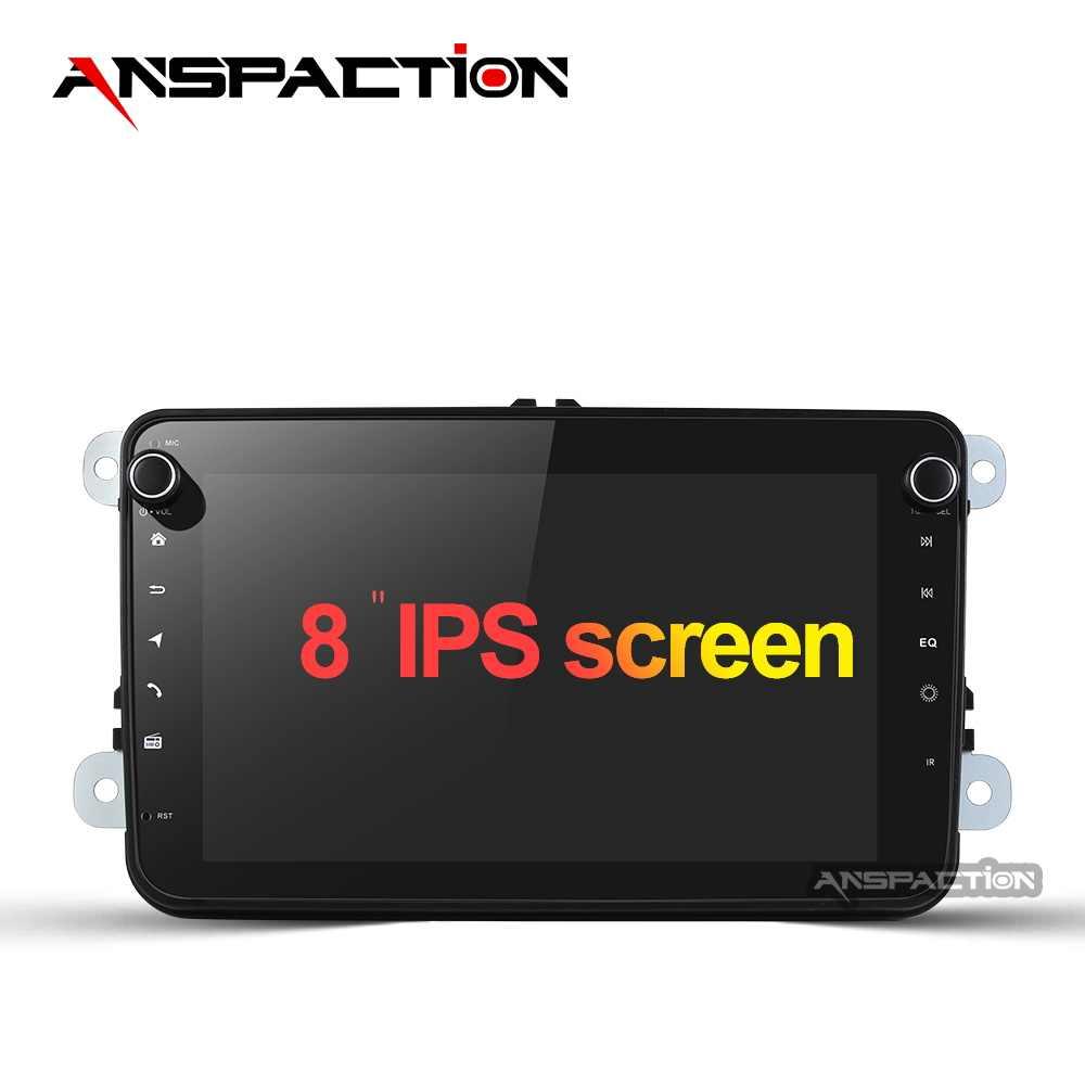 Coche reproductor Multimedia Android 9,0 Auto Radio para Skoda/asiento/Volkswagen/VW/Passat b7/POLO/GOLF 5 6 DVD de navegación GPS