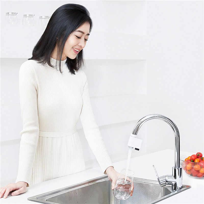 Xiaomi Casa Intelligente Attrezzature Automatico del Sensore A Infrarossi di Acqua Saver Cucina Bagno Rubinetto Del Sensore Adattatore Ugello Acqua Saver
