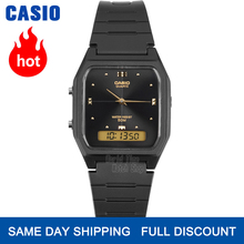 Casio часы золотые часы мужчины лучший бренд класса люкс двойной дисплей водонепроницаемые кварцевые цифровые мужские часы спортивные военн...