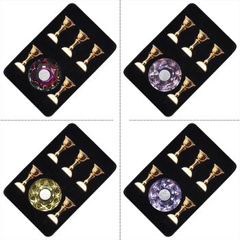 1 zestaw sztuczne paznokcie wyświetlacz artystyczny stojak magnetyczny Crystal praktyka szkolenia posiadacze Alloy sztuczne paznokcie pokazano półka narzędzie do Manicure tanie i dobre opinie CN (pochodzenie) n0475 Zestaw demonstracyjny 1set