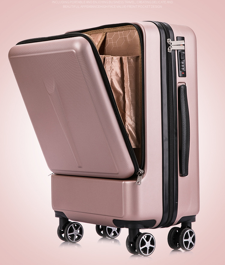 Men Trolley Suitcase-Wheels Laptop-Bag Cabin-Luggage Spinner Women 20inch With 24''creative