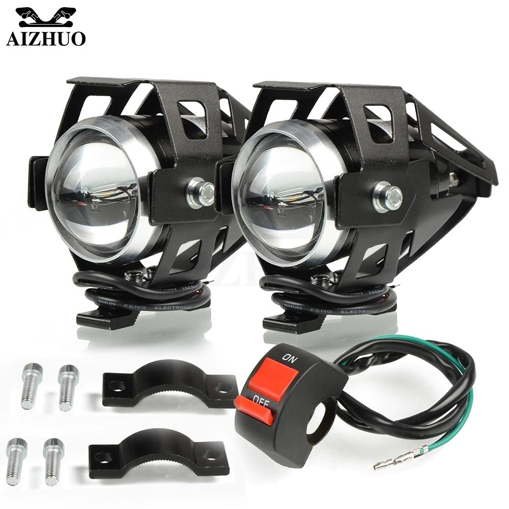 FOR YAMAHA FZ8 FAZER FZ6 FZ6N FZ6S FZ6R FZ1 FAZER XSR700 XSR 700 Mtorcycle Headlights Headlamp Spotlights Fog Head Light