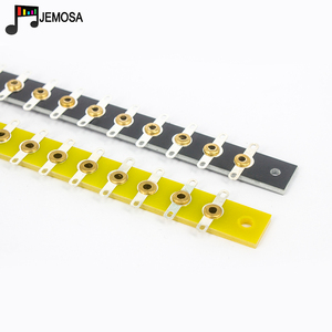 Image 3 - 2PCS DIY Project Audio Tag Strip Tag Board Turret Board Terminal Lug Board For Vintage Tube Amplifier Double head Soldering