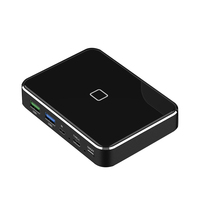 60W Input 2Hr fast charge Qi wireless charger 20000mah graphene battery power bank for mobile phone tablet PC