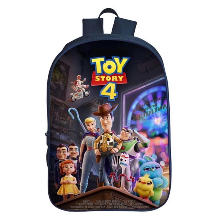 Hot Cartoon Mochila Toy Story 4 Forky Backpack Kindergarten Primary School Bags Boys Girls Kids Bag Infantil Menino Rucksack