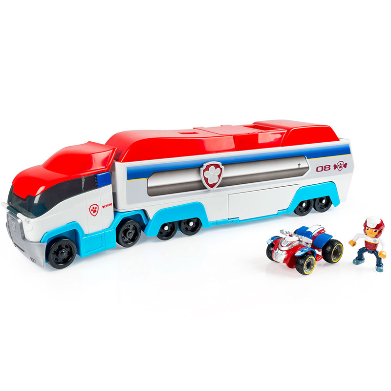 Paw Patrol Rescue Big Bus Patrol Dog Car Action Figure Toy Mobile Anime Puppy Patrulla Canina Boy Girl Birthday Party Gift 52B