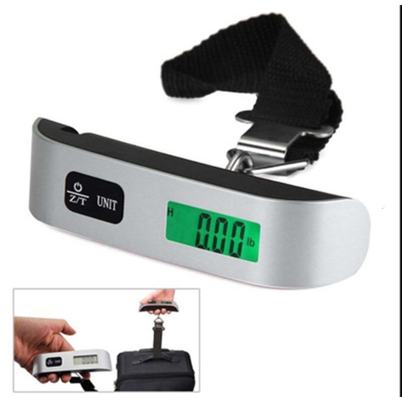 Bascula Portatil Colgante Digital con Escala para Equipaje Maleta 110 lb o 50 Kg