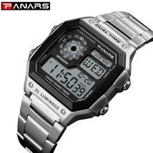 Digital Watch Electronic Clock Dual-Time Sports Waterproof Casual Fashion Relogio Saat