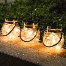 ZISIZ светодиодный ночник на солнечной энергии, наружный водонепроницаемый стеклянный светильник для балкона, двора, сада, фестиваля, декоративное освещение