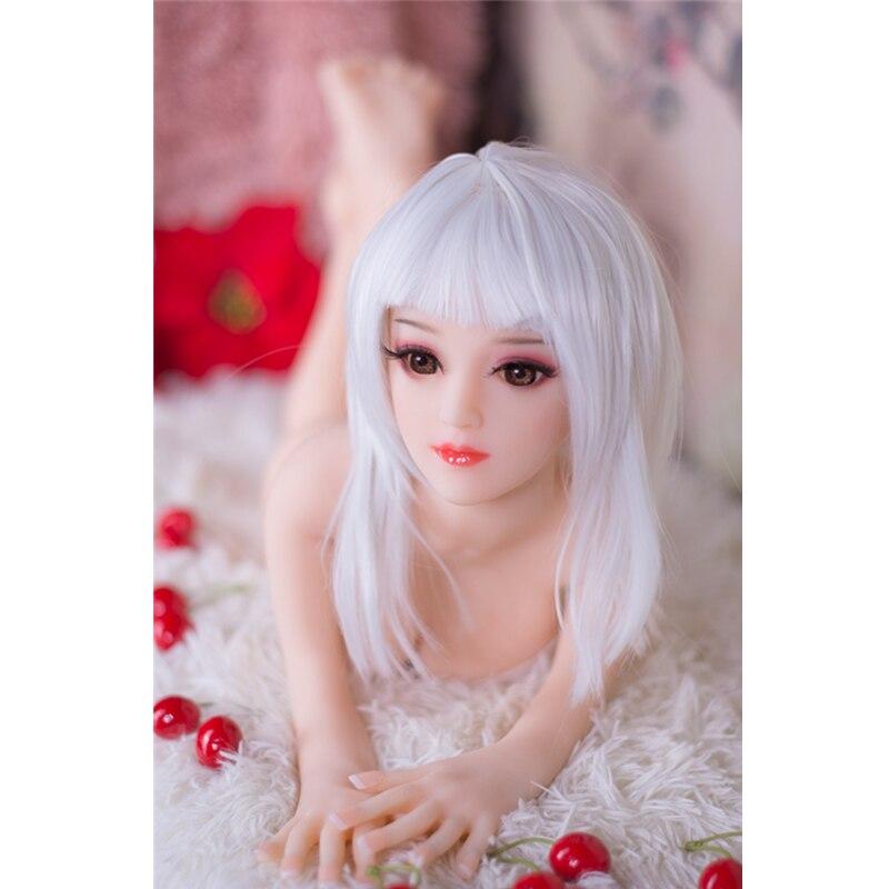2019 Japan Hot selling 65cm mini maat kleine siliconen volwassen sekspop Japanse 18 meisje sekspop - 6