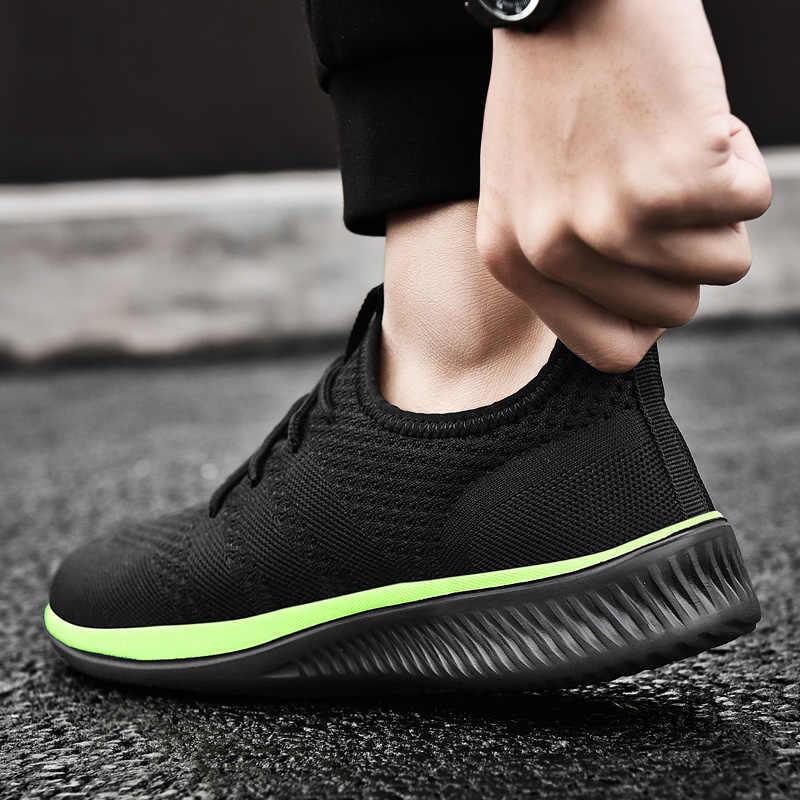 Mannen Casual Schoenen Lichtgewicht Sneakers 2019 Nieuwe Mode Mannen Outdoors Comfortabele Ademende Casual Schoenen Mannen Zapatos De Hombre