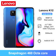 Lenovo Snapdragon 460 K12 Mobile-Phones 64GB 4gbb Octa Core Fingerprint Recognition 48mp