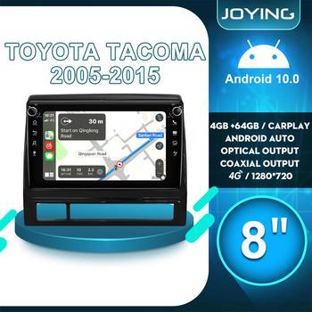 Car Accessories Android 10 Car Radio Stereo Auto GPS Multimedia Audio System For Toyota Tacoma 2005 2015 4G carplay Dash Cam DVR