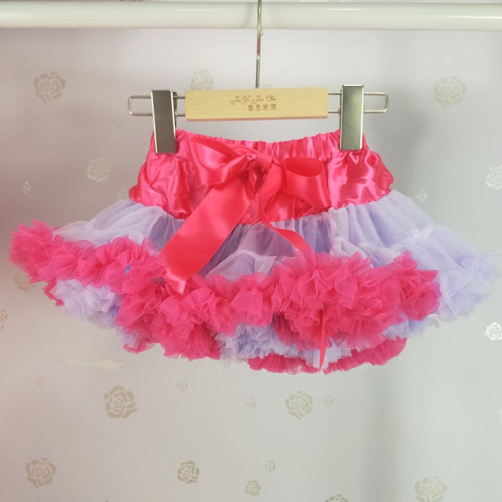 Детская юбка-пачка для девочек; пышная юбка-американка; распродажа - Цвет: Многоцветный