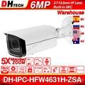 Dahua IPC HFW4631H ZSA 6MP IP Kamera 2.7 ~ 13 5mm 5X Zoom VF Objektiv Upgrade von IPC HFW4431R Z Gebaut in MiC SD Karte Slot PoE Kamera|ip camera|bullet ip camerabullet camera -