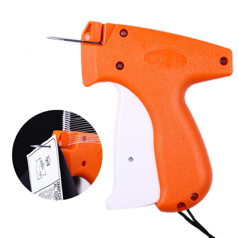 Hot Sale 1000 Barbs + 5 Needles Clothes Garment Price Label Tags Gun Marking DIY Apparel Tagging Guns Sewing Craft Tools