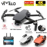Vimillo S3 4K GPS Drone Mit Kamera 4K Professionelle 5G WiFi Eders Bürstenlosen 25 minuten Abstand 1km Professionelle Rc Quadcopter PK EX5