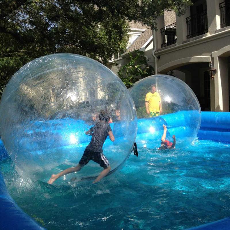 A água de 1.8m rola a caminhada inflável na bola da água para a piscina que flutua dentro do humano dacing o balão que corre bolas de zorb
