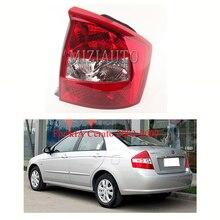цена на Left/ Right tail lights for kIA Cerato 2003-2007 Rear Bumper Reflector Light Tail Stop Brake  Lamp Free shipping